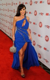 LAS VEGAS, NV - JANUARY 21: Adult film actress Lisa Ann arrives at the 29th annual Adult Video News Awards Show at the Hard Rock Hotel & Casino January 21, 2012 in Las Vegas, Nevada. (Photo by Ethan Miller/Getty Images)
